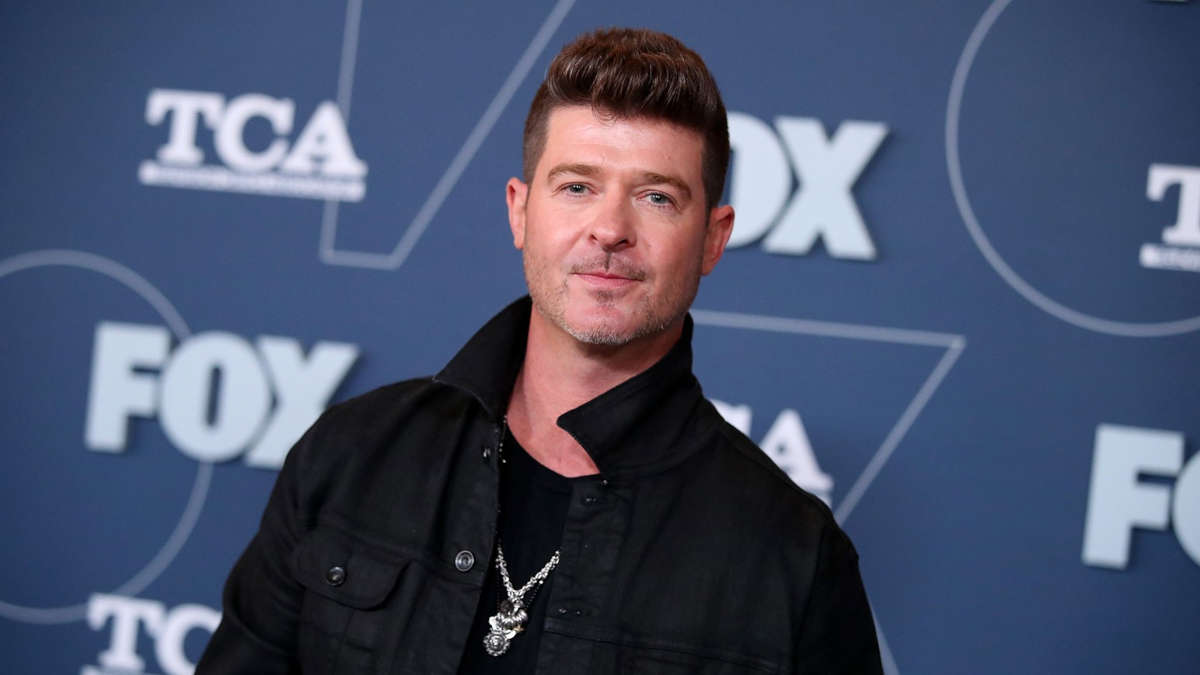 Robin Thicke - Photo : Rich Fury/Getty Images
