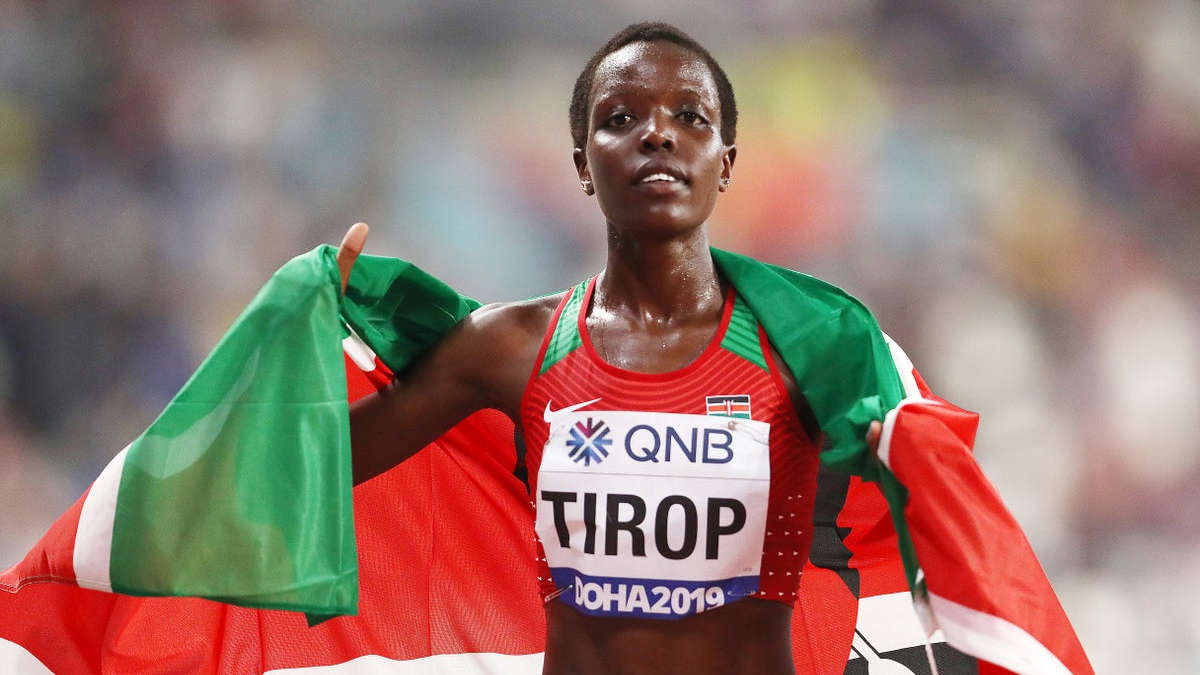 Agnes Tirop - photo : Getty images