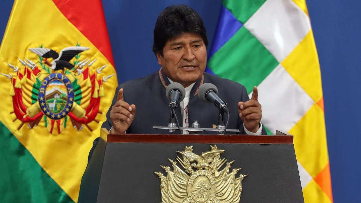 Evo Morales (Ph : EPA)