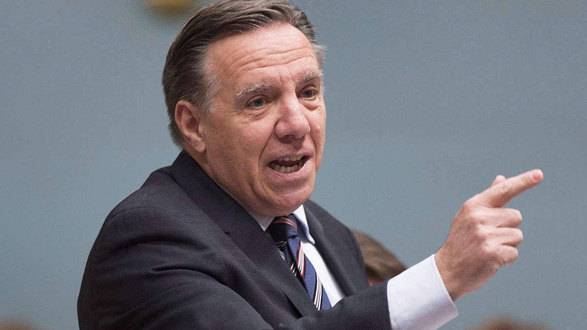 François Legault - premier ministre du québec