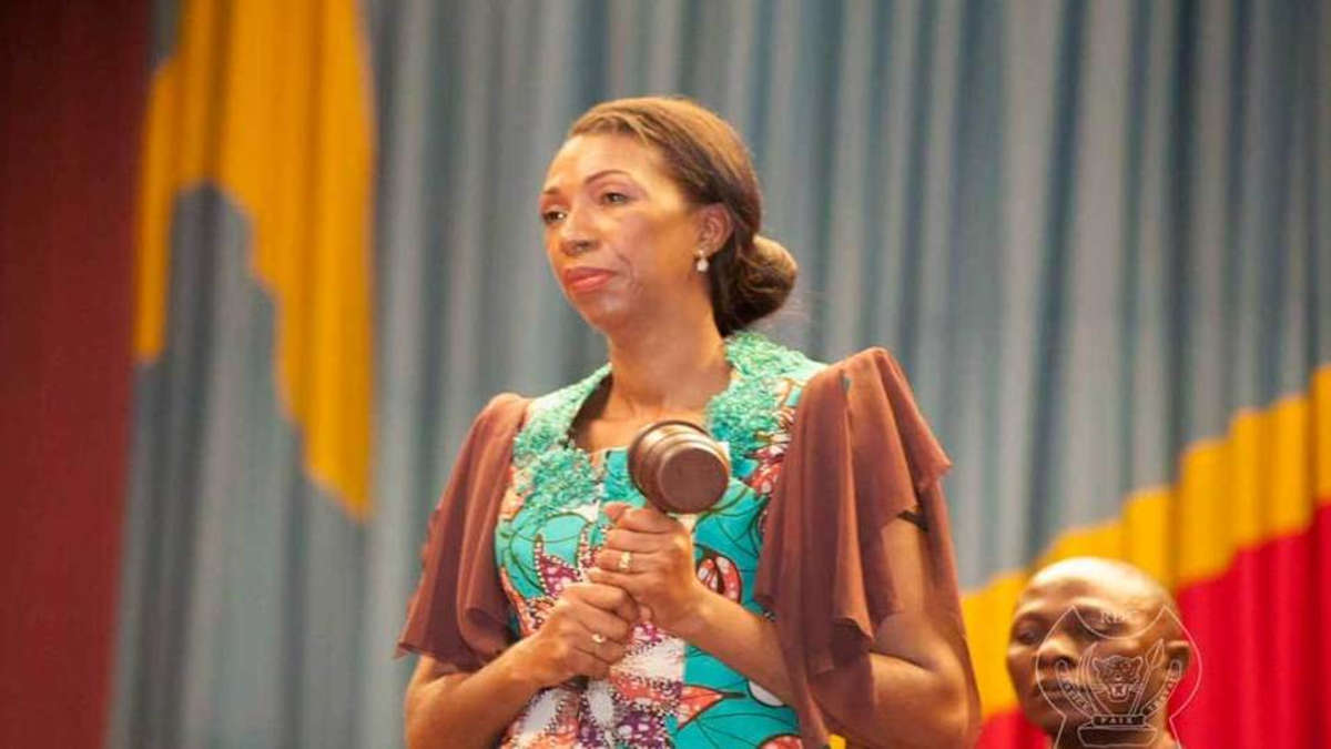 Jeanine MABUNDA, Présidente de l'Assemblée Nationale RDC