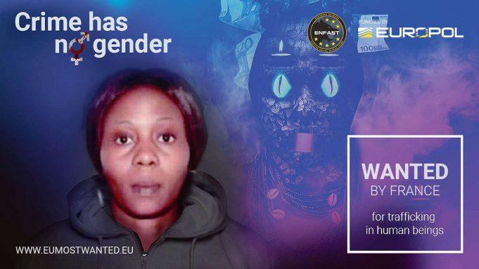 Jessica EDOSOMWAN, la Nigériane sur la liste des femmes les plus recherchées d'Europe