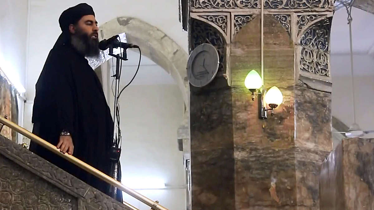 al-Baghdadi - Crédit: Getty Images