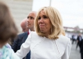 Brigitte Macron - Photo by Raphaël Lafargue/ABACAPRESS.COM