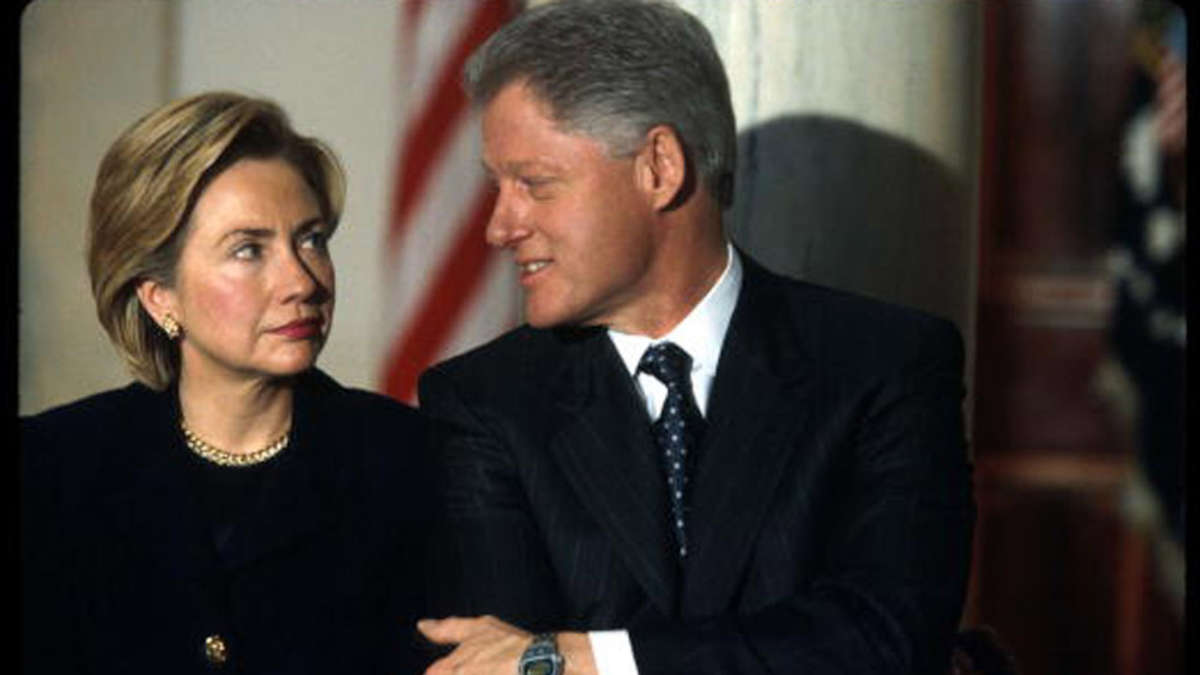Bill et Hillary Clinton - Getty Images