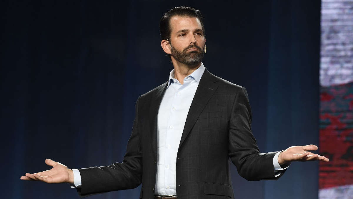 Photo de Donald Trump Jr.: Andy Cross / MediaNews Group / The Denver Post via Getty Images