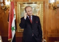 Rifaat Assad (AP Photo/Paul White)/SPAIN_ASSADS_UNCLE_PW804/EFE  PAUL WHITE/AP/SIPA