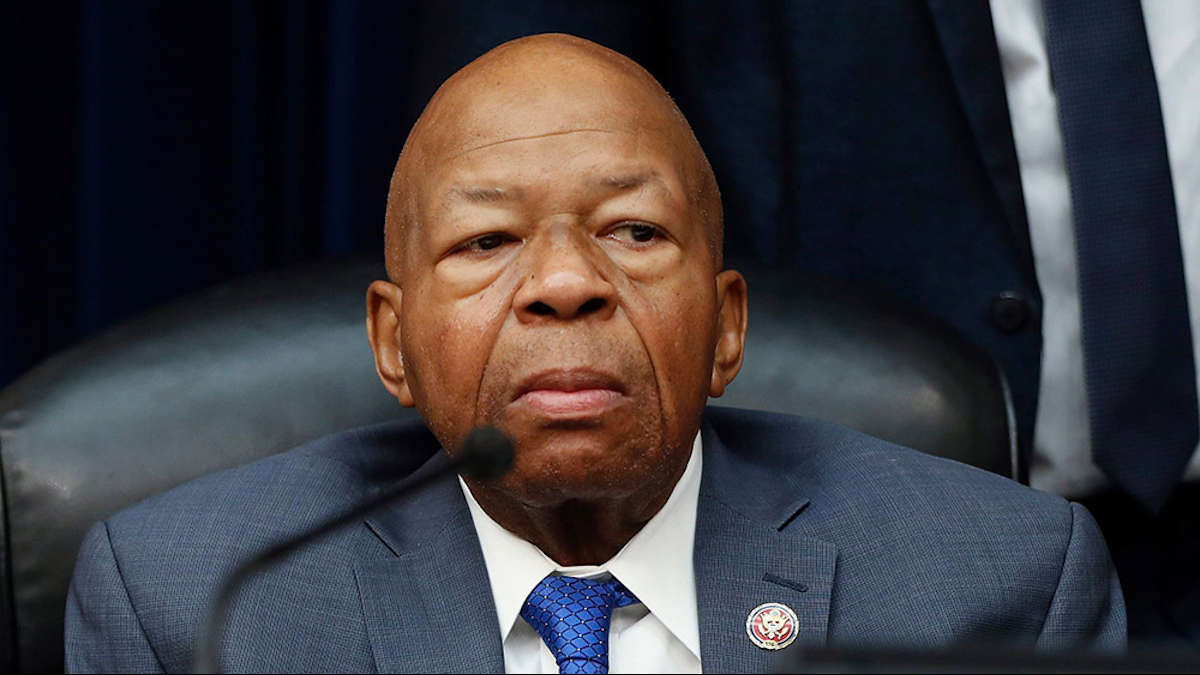 Mandatory Credit: Photo by Pablo Martinez Monsivais/AP/REX/Shutterstock (10122180t) House Oversight and Reform Committee Chair Elijah Cummings, D-Md., watches during a break in testimony by Michael Cohen, President Donald Trump's former lawyer, on Capitol Hill in Washington Trump Lawyer Investigation Congress, Washington, USA - 27 Feb 2019