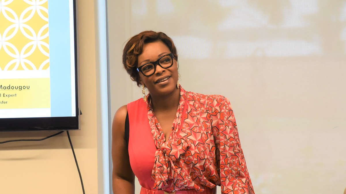 Reckya Madougou (Photo Amb. USA)