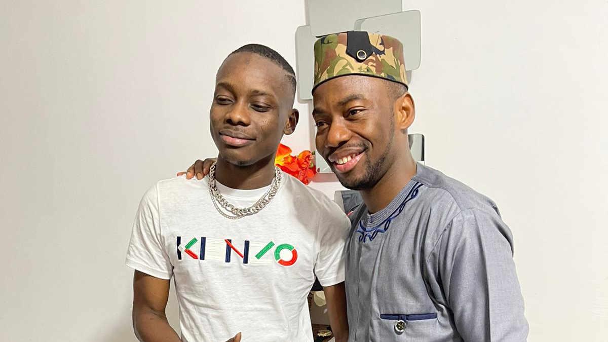 Sidiki Diabaté et le général Makosso (Photo Facebook)