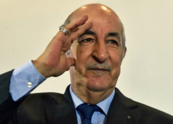 Le président Tebboune (Photo de GETTY IMAGES / RYAD KRAMDI)