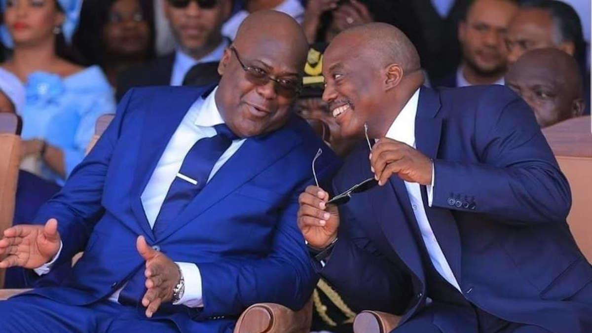 Félix Tshisekedi et l'ex-président Kabila