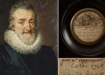 Portrait d'Henri IV par Frans Pourbus 1610 (collection privée) Fine Art Images/Heritage Images/Getty Images - Ader
