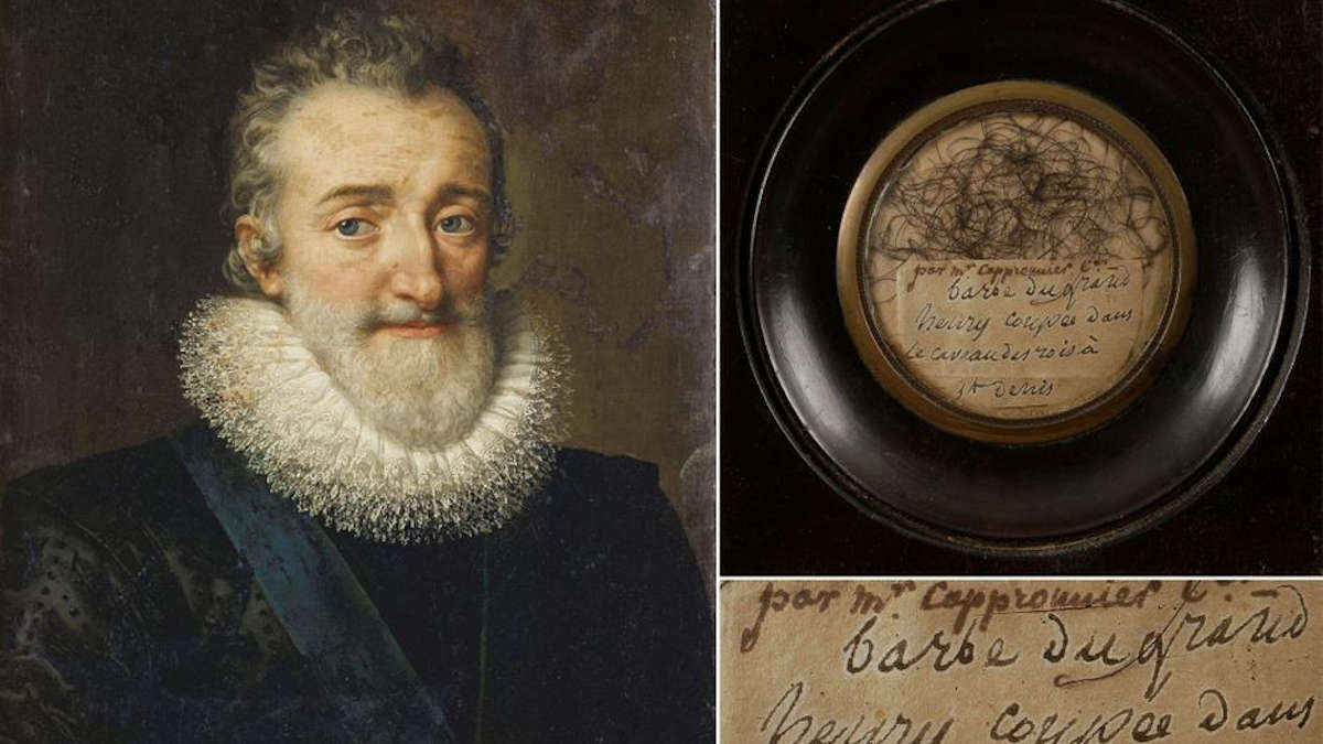Portrait d'Henri IV par Frans Pourbus 1610 (collection privée) Fine Art Images/Heritage Images/Getty Images - Ader