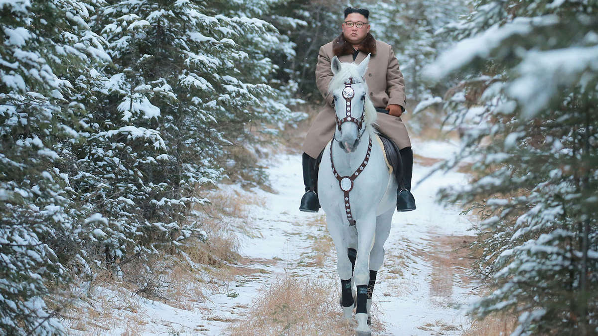 Photo :  KCNA VIA KNS/AFP