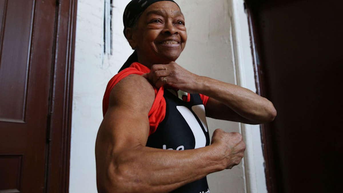 Willie Murphy, 82 ans, affiche une musculature qui en ferait rêver plus d'un. © DR