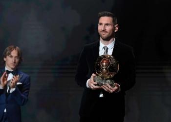 Lionel Messi sacré ballon d'or