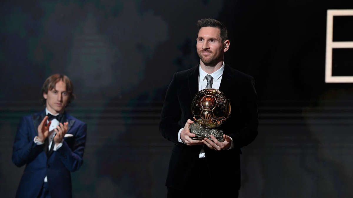 Lionel Messi sacré ballon d'or